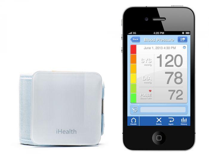 Tensiomètre poignet sans fil BP7 iHealth pour iphone / ipad / android