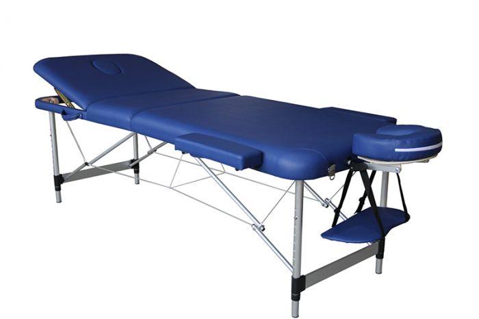 Table de Massage pliante Mediprem Eco Pro Alu Bleue