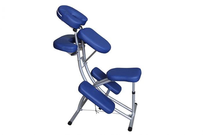 Chaise de massage Mediprem Ecolight Bleu marine