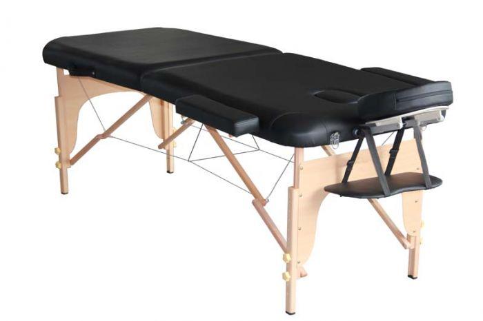 Table de Massage pliante en bois Mediprem Eco Pro Noire