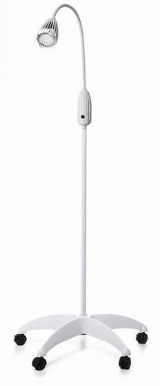 Lampe d´examen Ulsan Luxiflex 29, halogène, avec pied à roulettes