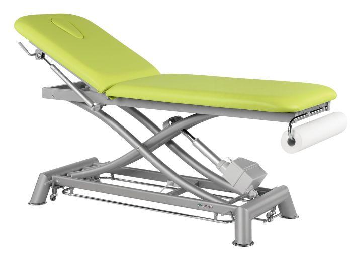 Table de massage électrique 2 plans barres péripheriques Ecopostural C7952