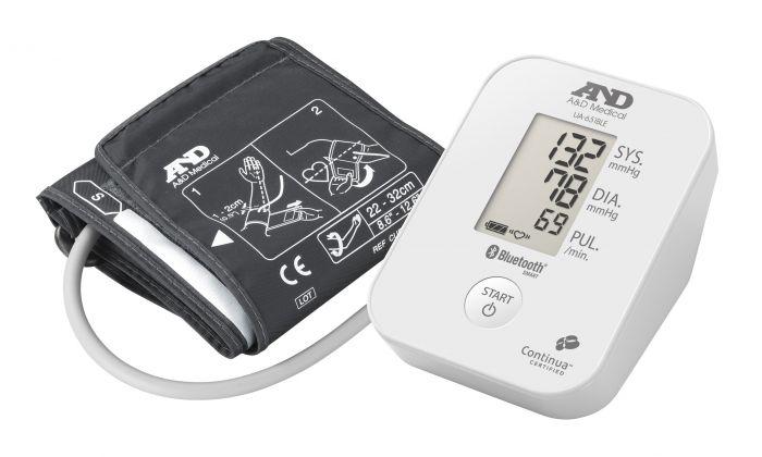 Tensiomètre au bras connecté avec Bluetooth A&D UA 651 BLE