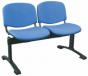 Banc, assise tissu vinyle, 2 fauteuils Hidemar
