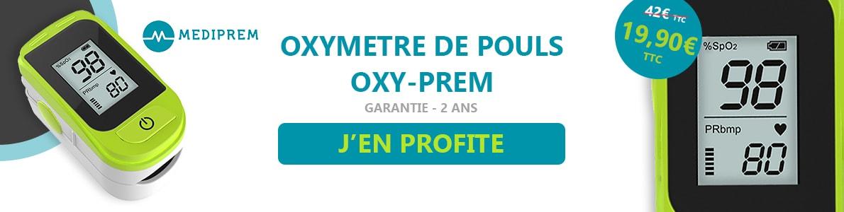oxymetre de pouls oxyprem mediprem