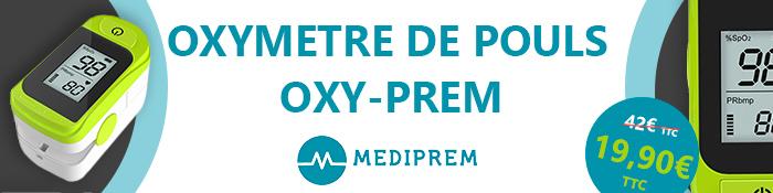 OXYMÈTRE DE POULS OXY-PREM MEDIPREM