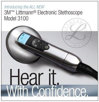 Stetoscopio elettronico Littmann 3100