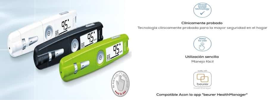 Glucómetro Beurer GL50