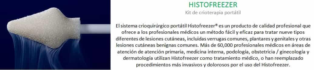 Histofreezer crioterapia