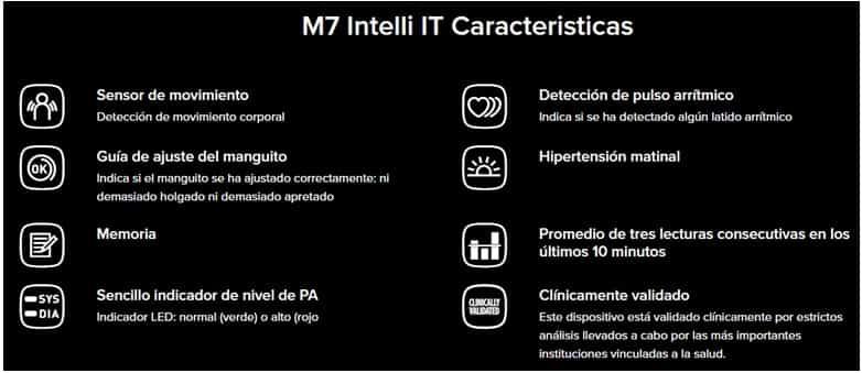 TENSIOMETRO OMRON M7